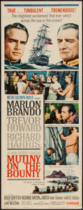 "Movie Posters:Adventure, Mutiny on the Bounty (MGM, 1962). Insert (14"" X 36""). Adventure....."
