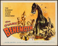 """Movie Posters:Science Fiction, The Giant Behemoth (Allied Artists, 1959). Half Sheet (22"""" X 28"""").Science Fiction.. ..."""
