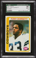 Football Cards:Singles (1970-Now), 1978 Topps Tony Dorsett #315 SGC 96 Mint 9....