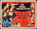 """Movie Posters:Swashbuckler, The Three Musketeers (MGM, R-1956). Half Sheet (22"""" X 28""""). Swashbuckler.. ..."""