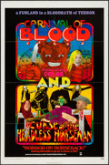 """Movie Posters:Horror, Carnival of Blood/Curse of the Headless Horseman Combo (Kirt Films, 1972). One Sheet (27"""" X 41""""). Horror.. ..."""