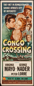 "Movie Posters:Adventure, Congo Crossing & Others Lot (Universal International, 1956).Inserts (3) (14"" X 36""). Adventure.. ... (Total: 3 Items)"