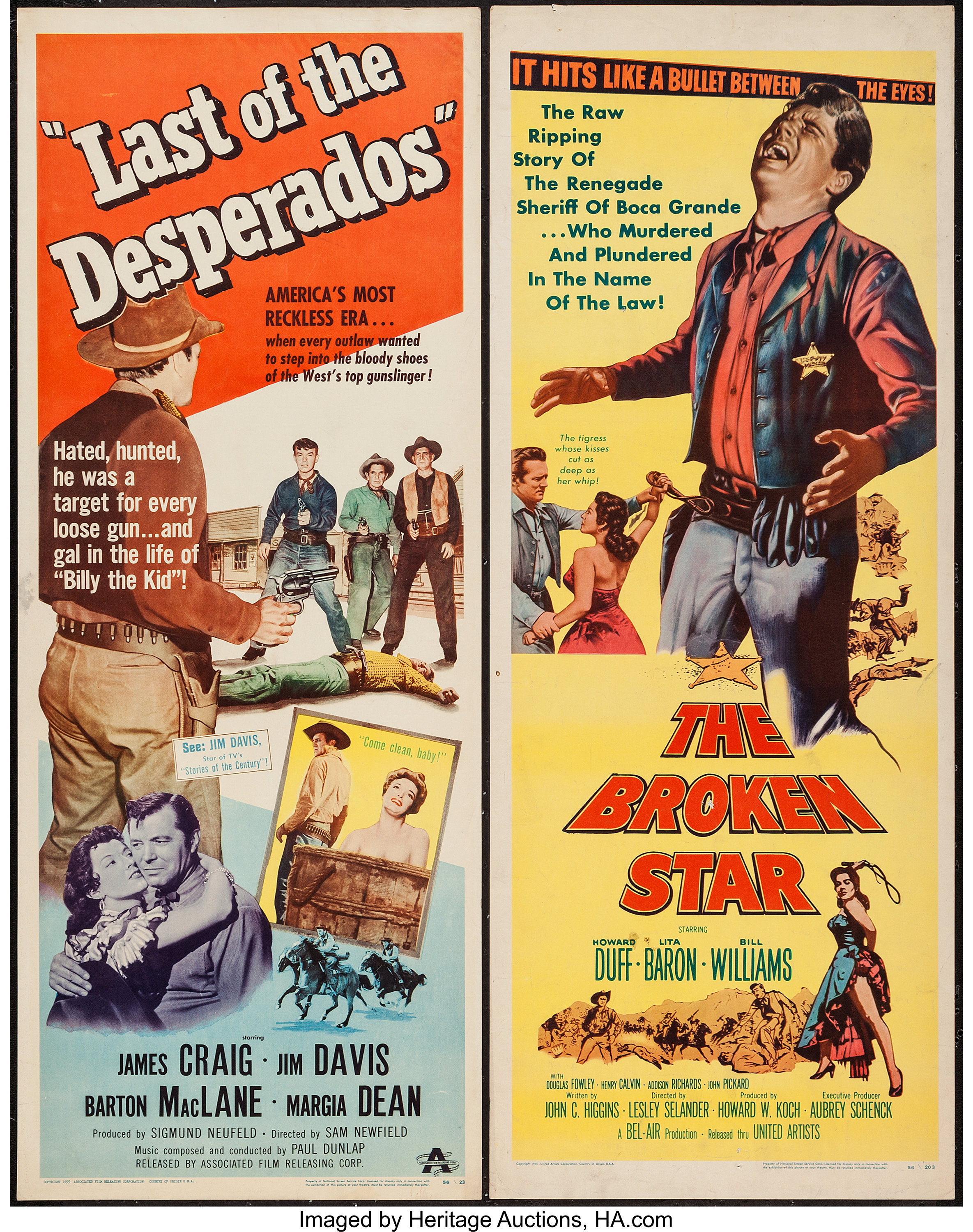 Last Of The Desperados Others Lot Associated Film Releasing Lot 52269 Heritage Auctions