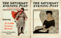 Books:Periodicals, [Joel Chandler Harris]. [Periodical]. The Saturday EveningPost. Featuring the first part of the story A Little U...(Total: 2 Items)