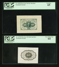 Fractional Currency:First Issue, Fr. 1243SP 10¢ First Issue Specimen Pair PCGS Gem New 65 and Very Choice New 64.. ... (Total: 2 notes)