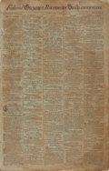 Books:Periodicals, [Runaway Slave Ads]. [Newspaper]. Federal Gazette &Baltimore Daily Advertiser. 1796. Advertising the sale ofslaves...