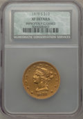 Liberty Eagles: , 1878-S $10 -- Improperly Cleaned -- NCS. XF Details. NGC Census: (29/161). PCGS Population (42/74). Mintage: 26,100. Numism...