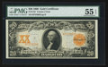 Large Size:Gold Certificates, Fr. 1181 $20 1906 Gold Certificate PMG About Uncirculated 55 EPQ.. ...
