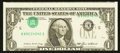 Error Notes:Inverted Third Printings, Fr. 1913-E $1 1985 Federal Reserve Note. About Uncirculated.. ...