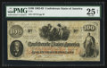 "Confederate Notes:1862 Issues, Manuscript Endorsement ""John A. Harman"" T41 $100 1862 PF-10 Cr.315A.. ..."