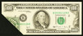 Error Notes:Foldovers, Fr. 2173-B $100 1990 Federal Reserve Note. About Uncirculated.. ...