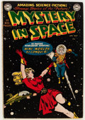 Golden Age (1938-1955):Science Fiction, Mystery in Space #1 (DC, 1951) Condition: Apparent VG....