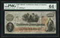 "Confederate Notes:1862 Issues, Manuscript Endorsement ""A.B. Ragan"" T41 $100 1862 PF-53 Cr. 325A....."