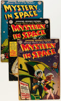 Golden Age (1938-1955):Science Fiction, Mystery in Space Group (DC, 1951-52) Condition: Average FR/GD....(Total: 5 Comic Books)