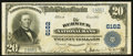 National Bank Notes:Pennsylvania, Berwick, PA - $20 1902 Plain Back Fr. 660 The Berwick NB Ch. #6162. ...