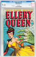 Golden Age (1938-1955):Crime, Ellery Queen #1 Vancouver pedigree (Superior Comics, 1949) CGC NM/MT 9.8 White pages....