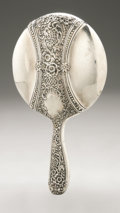 Silver Holloware, American:Mirrors and Vanity-related , An American Silver Hand Mirror. Reed & Barton, Taunton, MA,1887. Hallmark to the handle with STERLING 105 A/PAT. JU...