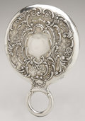 Silver Holloware, American:Mirrors and Vanity-related , An American Silver Hand Mirror. Gorham, Providence, RI, EarlyTwentieth Century. Hallmark to the side with STERLING/...