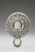 Silver Holloware, American:Mirrors and Vanity-related , An American Silver Hand Mirror. Tiffany & Co., New York, NY,Late Nineteenth Century. Script monogram to the reverse ...