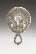 Silver Holloware, American:Mirrors and Vanity-related , An American Silver Hand Mirror. Gorham, Providence, RI, EarlyTwentieth Century. Script monogram to the reverse LMS,...