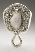 Silver Holloware, American:Mirrors and Vanity-related , An American Silver Hand Mirror. Gorham, Providence, RI, EarlyTwentieth Century. Script monogram to the reverse END,...