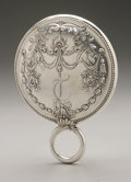 Silver Holloware, American:Mirrors and Vanity-related , An American Silver Hand Mirror. Gorham, Providence, RI, 1896.Monogram to the reverse T, hallmark to the side with...