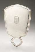 Silver Holloware, American:Mirrors and Vanity-related , An American Silver Hand Mirror. Wallace & Sons Mfg. Co.,Wallingford, CT, Early Twentieth Century. Monogram to the rev...