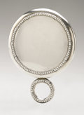 Silver Holloware, American:Mirrors and Vanity-related , An American Silver Hand Mirror. Unger Bros., Newark, NJ, EarlyTwentieth Century. Hallmark near the handle with STER...