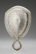 Silver Holloware, American:Mirrors and Vanity-related , An American Silver Hand Mirror. Wm. B. Kerr & Co., Newark, NJ,Late Nineteenth Century. Monogram to the reverse EM,...