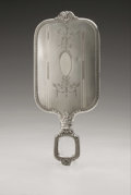 Silver Holloware, American:Mirrors and Vanity-related , An American Silver Hand Mirror. International Silver Co., Meriden,CT, Early Twentieth Century. Hallmark to the side o...