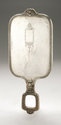 Silver Holloware, American:Mirrors and Vanity-related , An American Silver Hand Mirror. International Silver Co., Meriden,CT, Early Twentieth Century. Hallmark to the side w...