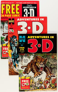 Adventures in 3-D File Copies Group (Harvey, 1953-54).... (Total: 21 Comic Books)