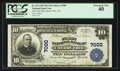 National Bank Notes:Pennsylvania, Cherry Tree, PA - $10 1902 Plain Back Fr. 624 The First NB Ch. # 7000. ...