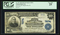 National Bank Notes:Pennsylvania, Shippenville, PA - $10 1902 Plain Back Fr. 625 The First NB Ch. #7874. ...