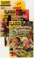 Golden Age (1938-1955):Classics Illustrated, Classics Illustrated Group (Gilberton, 0) Condition: Average VG+.... (Total: 22 Comic Books)