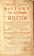 Books:Religion & Theology, P. Heylyn. Cyprianus Anglicus: or, the History of the Life and Death, of the Most Reverend and Renowned Prelate William ...