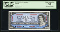 Canadian Currency: , BC-39S 1954 $5 Specimen. ...