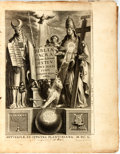 Books:Religion & Theology, [Holy Bible]. Biblia Sacra Vulgatae Editionis Sixti V. Pont. Max. IVSSV Recognita Atgque Edita. 1650. Bible with tex...