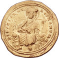 Ancients:Byzantine, Ancients: Romanus III Argyrus (1028-1034). AV histamenon nomisma(25mm, 4.40 gm, 6h). ...