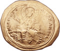Ancients:Byzantine, Ancients: Isaac I Comnenus (1057-1059). AV histamenon nomisma(26mm, 4.43 gm, 6h). ...