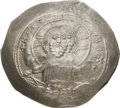 Ancients:Byzantine, Ancients: Alexius I Comnenus (1081-1118). AR histamenon nomisma (29mm, 4.44 gm, 6h). ...