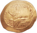 Ancients:Byzantine, Ancients: Alexius I Comnenus (1081-1118). AV hyperpyron (30mm, 4.35gm, 6h). ...