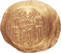 "Ancients:Byzantine, Ancients: John II Comnenus ""the Good"" (1118-1143). AV hyperpyron (31mm, 4.23 gm, 6h). ..."