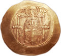 Ancients:Byzantine, Ancients: Isaac II Angelus, first reign (1185-1195). AV hyperpyron(28mm, 4.57 gm, 6h)....