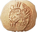 Ancients:Byzantine, Ancients: Andronicus II Palaeologus (1282-1328), with AndronicusIII. AV hyperpyron (24mm, 4.26 gm, 6h)....
