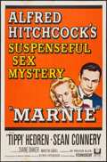 """Movie Posters:Hitchcock, Marnie (Universal, 1964). One Sheet (27"""" X 41""""). Hitchcock.. ..."""