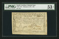Colonial Notes:South Carolina, South Carolina February 8, 1779 $70 PMG About Uncirculated 53 Net.....