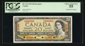 Canadian Currency: , BC-41S 1954 $20 Specimen. ...