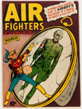 Golden Age (1938-1955):War, Air Fighters Comics V2#6 (Hillman Fall, 1944) Condition: FN+....