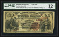 National Bank Notes:Kentucky, Ashland, KY - $20 1882 Brown Back Fr. 499 The Merchants NB Ch. #(S)4559. ...